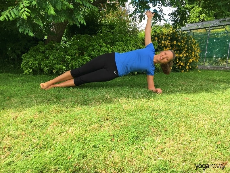 Yoga Pose for Core- Side Plank
