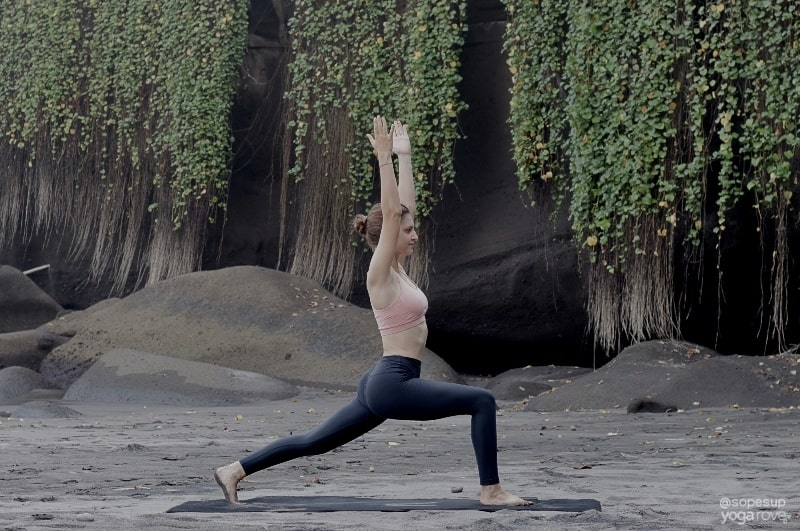 Yoga for Flexibility Routine: High Lunge