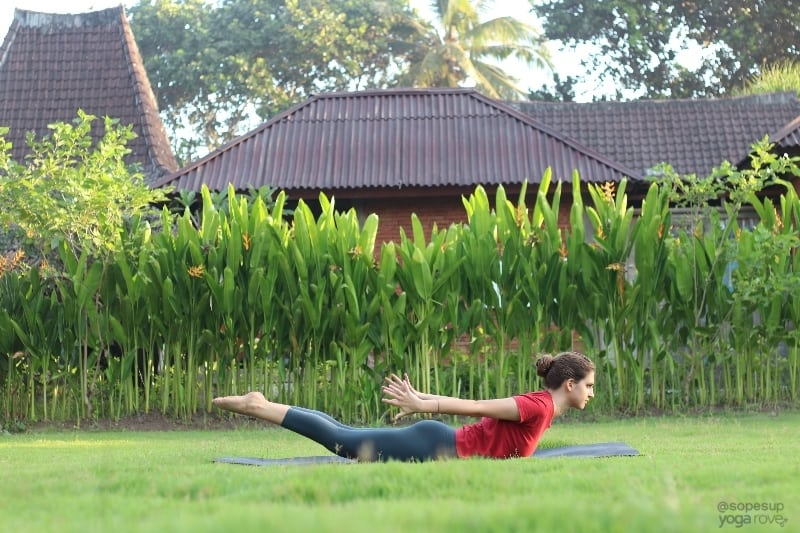 Yoga Poses for Beginners: Locust Pose