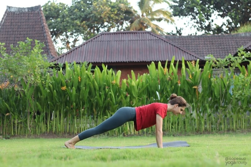 Yoga Poses for Beginners: Plank Pose
