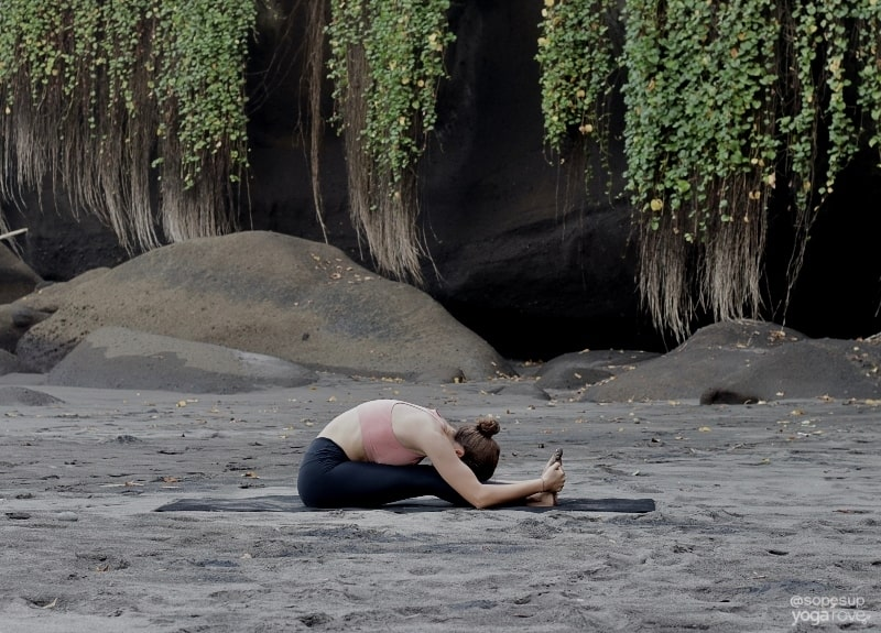 Yoga Routine for Flexibility: Seated Forward Fold