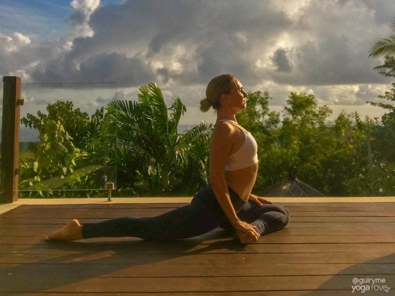 20 Minute Yoga Routine for Beginners- Pigeon Pose