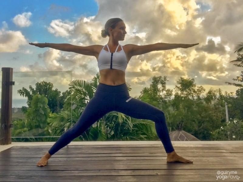 Warrior II Pose- 20 Minute Yoga Routine for Beginners