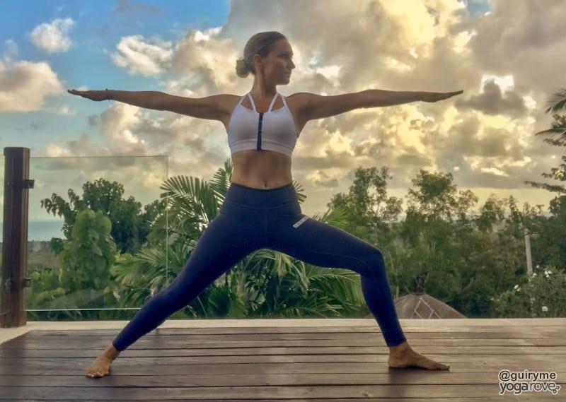 Warrior II- yoga for beginners 20 minute routine