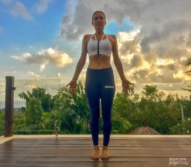 20 Minute Yoga Routine for Beginners- Tadasana