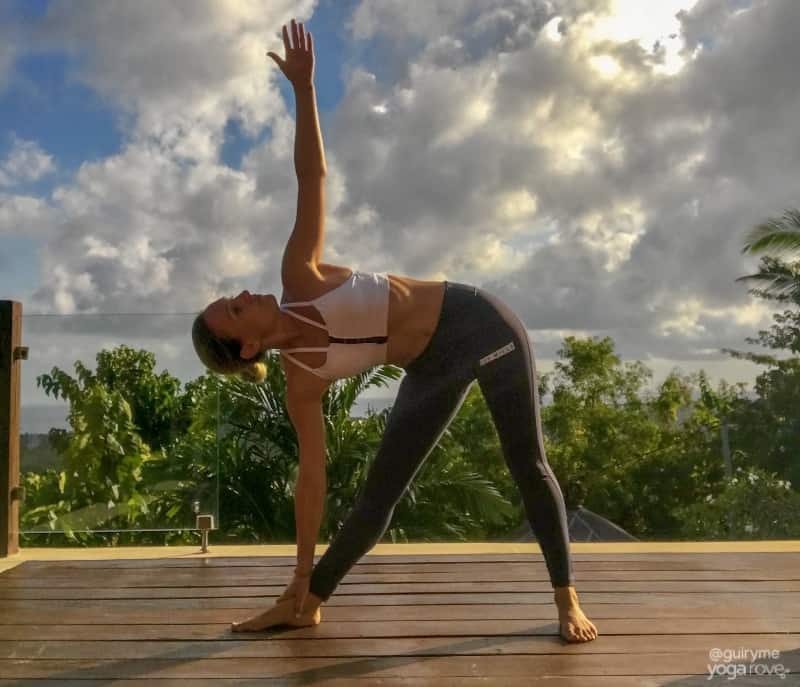 The 20 Minute Yoga Routine Every Beginner Needs- Triangle Pose