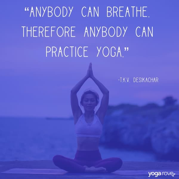 quotes about breathing yoga