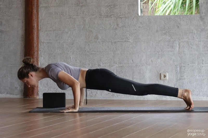 Chaturanga Pose- Yoga for Weight Loss Routine