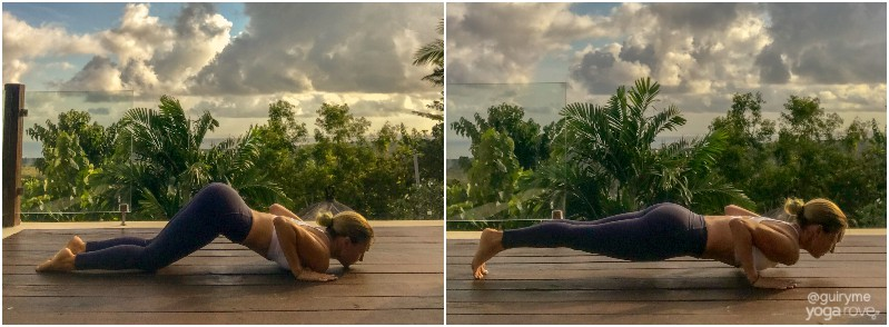 Yoga for Beginners Routine- Chaturanga and modification