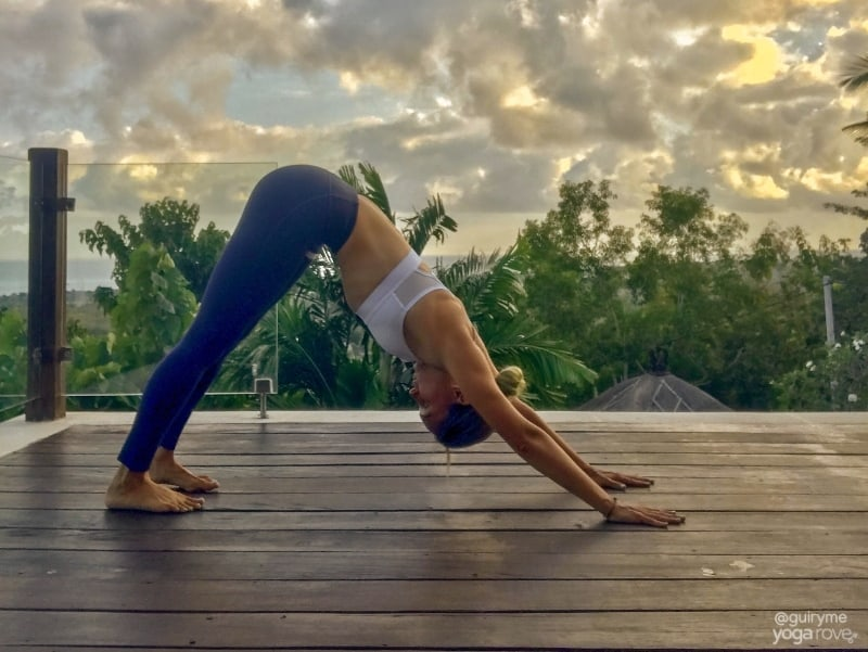 20 Minute Yoga Routine for Beginners- Downward Dog