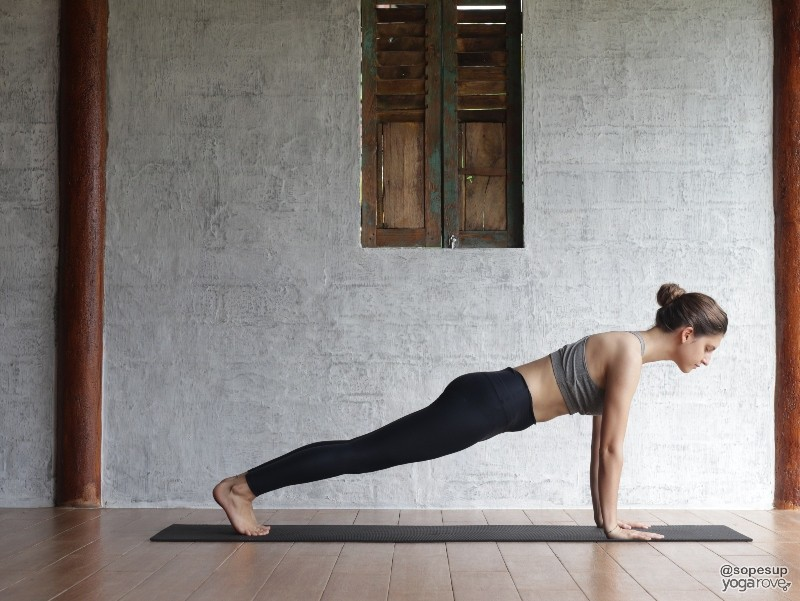 Full Body Yoga flow- Plank