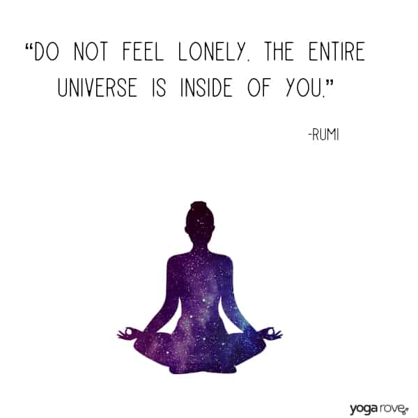 Rumi Yoga Quote