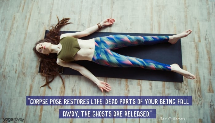 Savasana quote