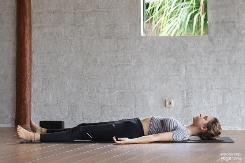 Savasana Pose- Last Pose for Weight Loss Routine
