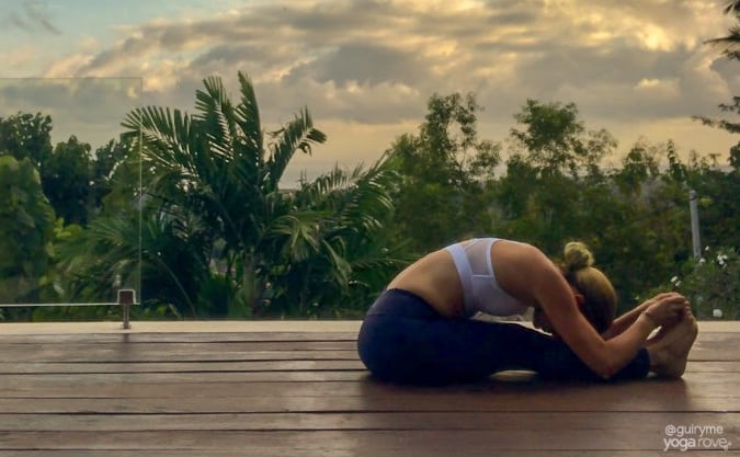 Yoga for Beginners- Seated Forward Fold