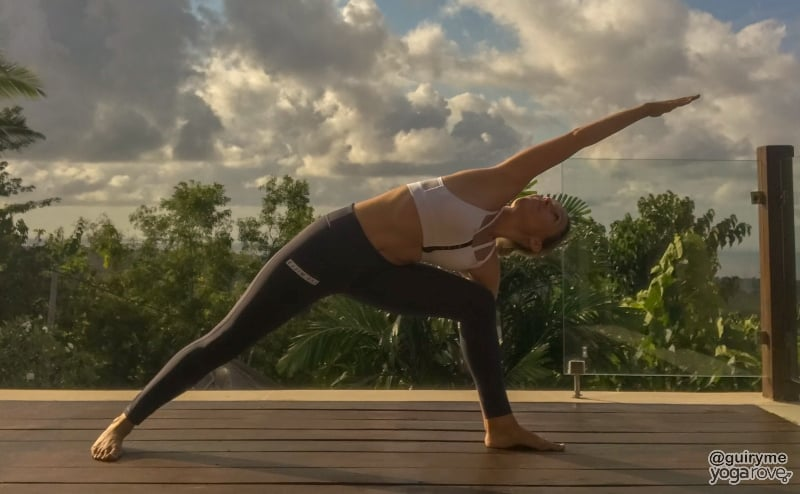 Yoga Routine for Beginners- Side Angle Pose