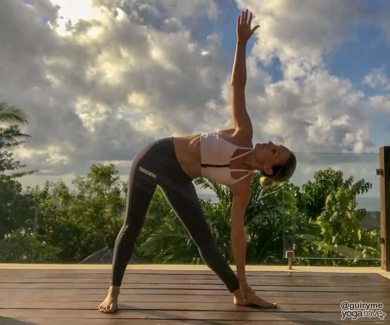 Triangle Pose- Beginner yoga routine