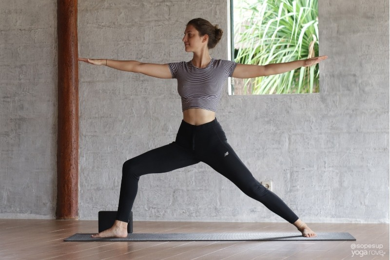Warrior II Yoga for Weight Loss Routine