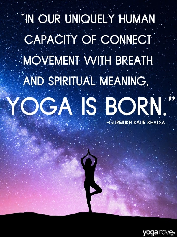Yoga Quote for Beginners