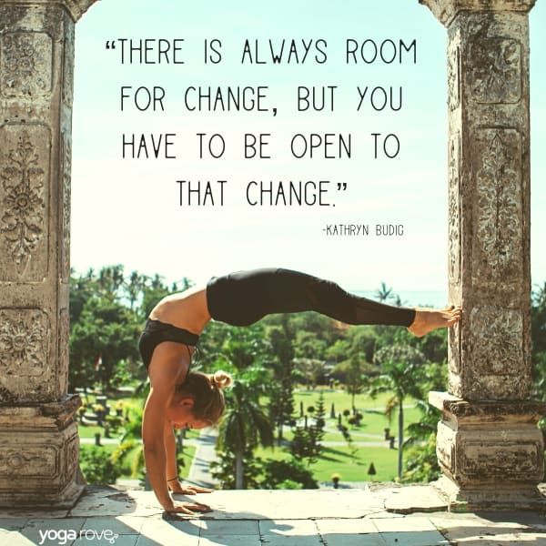 yoga quotes about change