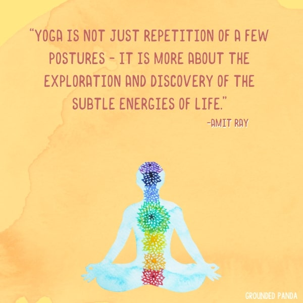 quote about energy and yoga