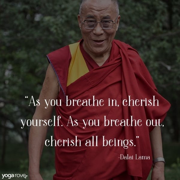 yoga quote from the dalai lama