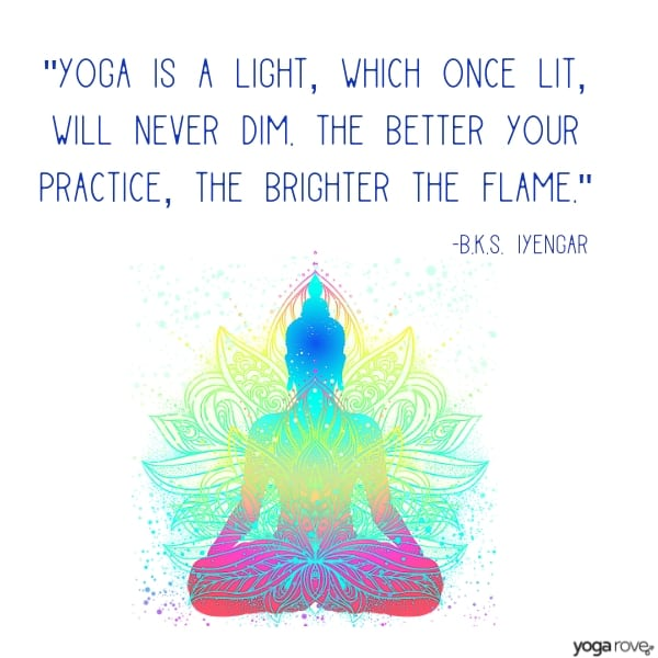 yoga quote from iyengar