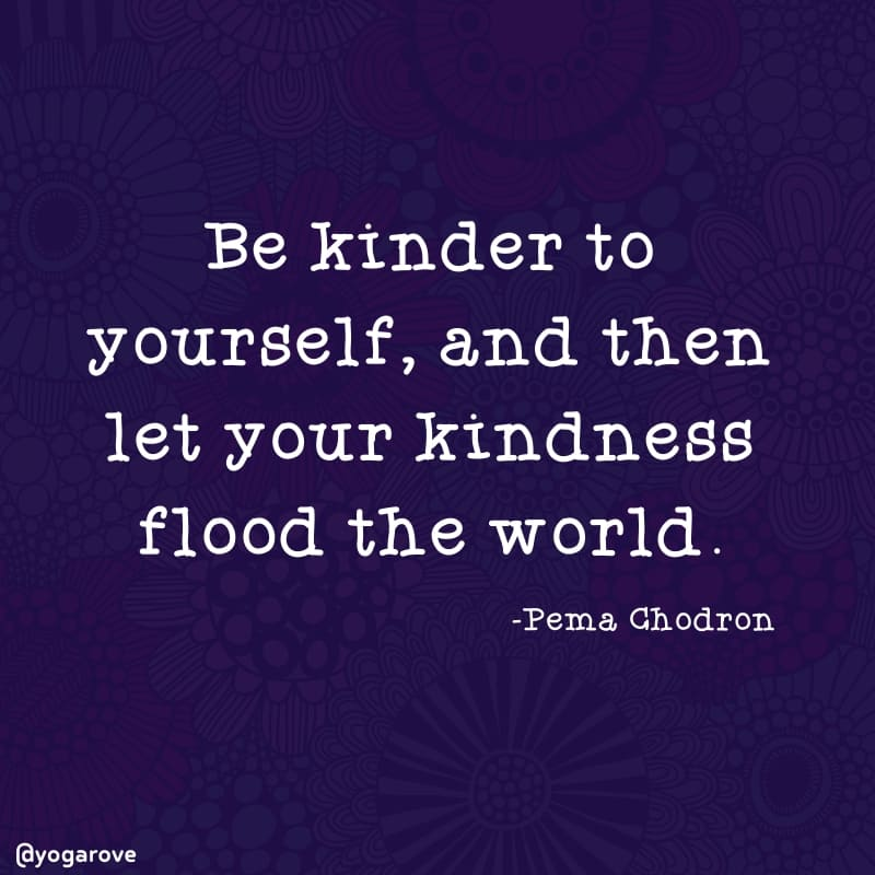 Yoga Quote about kindness