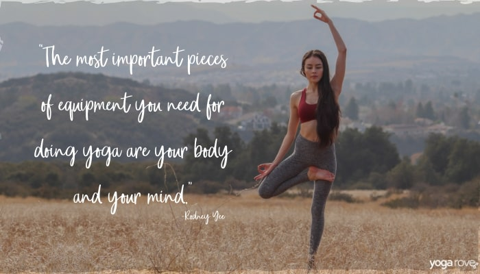 Yoga quote about practice