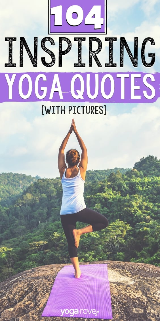 104 Yoga Quotes with Pictures