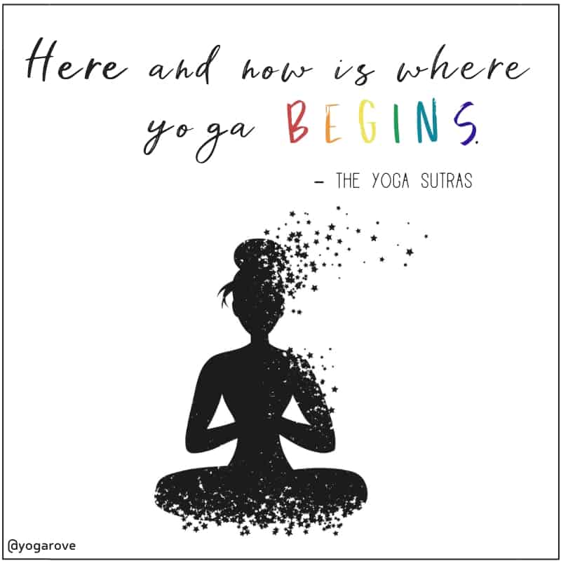 quote from the yoga sutras