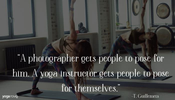 yoga teacher quote