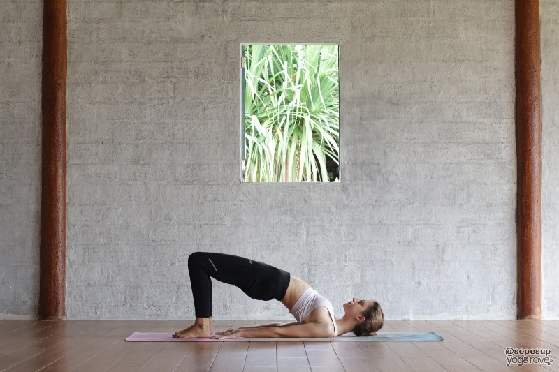 Yoga for Flexibility- Bridge Pose