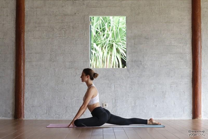 pigeon pose for hip flexibility