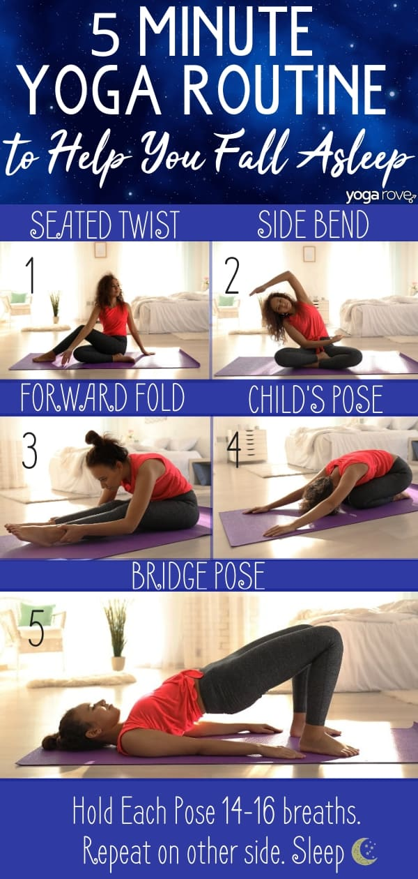 Yoga for Sleep Infographic