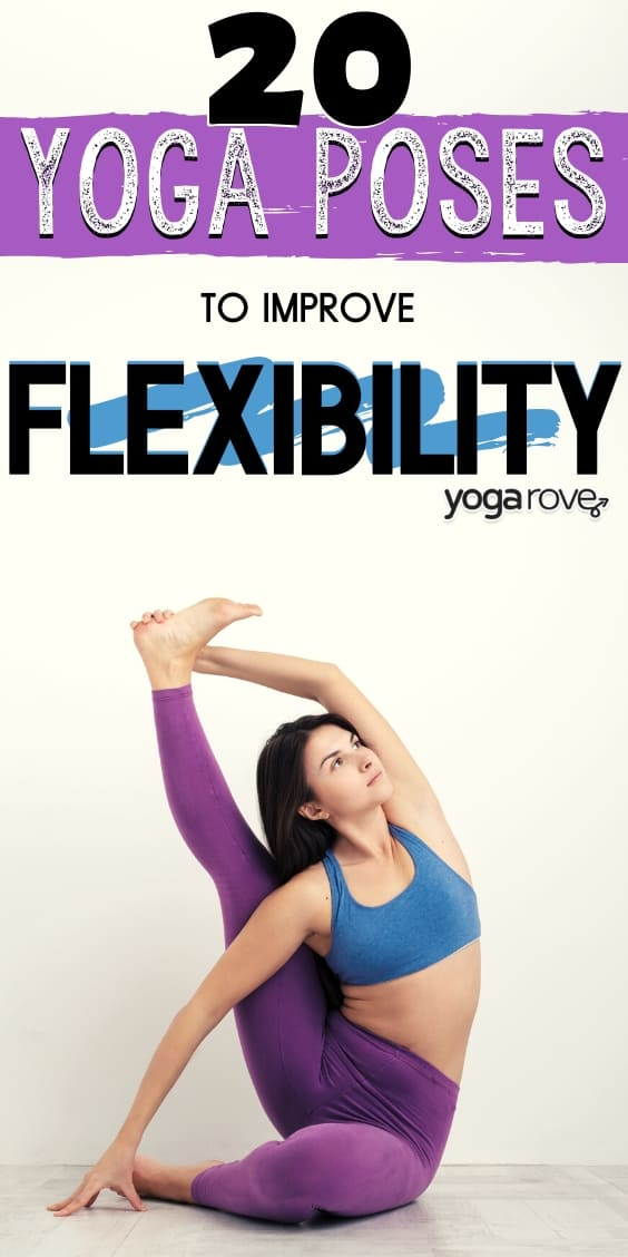 20 Beginner Yoga Poses For Flexibility Free Printable Yoga Rove