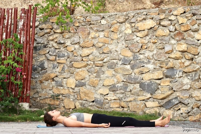 Savasana- yoga poses to practice everyday