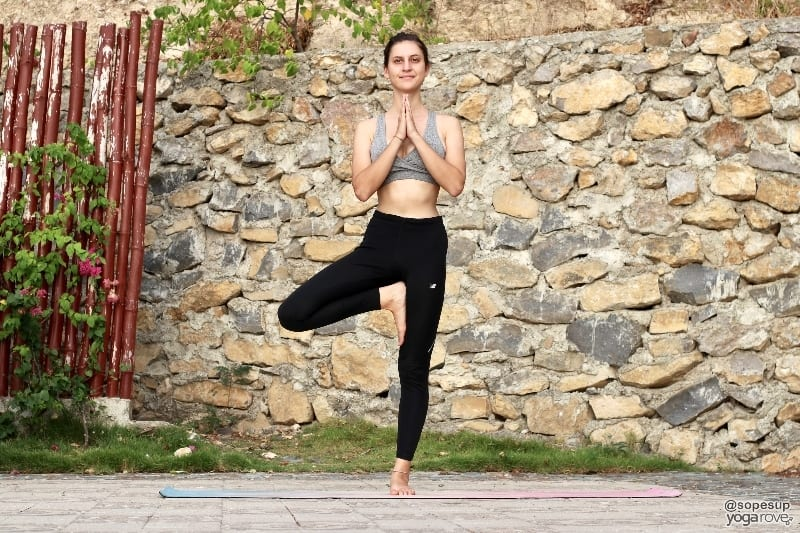 tree pose- yoga to practice everyday
