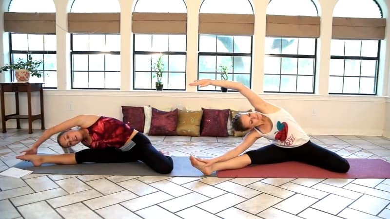 side stretch example