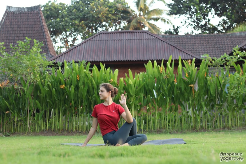 yoga poses to practice everyday-seated spinal twist