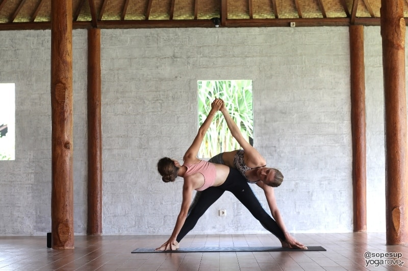 50 Partner Yoga Poses For Friends Or Couples Yoga Rove