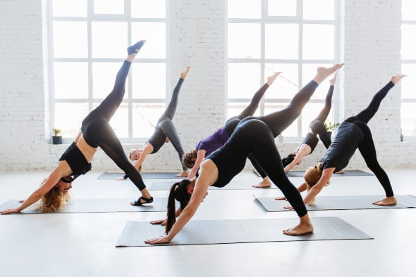 Vinyasa beginner level yoga