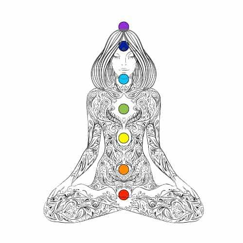 Chakras Yoga Symbol