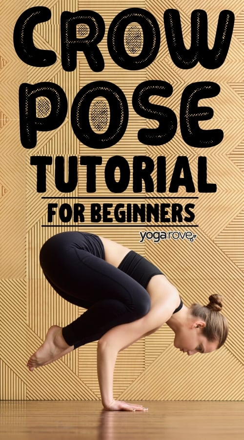 how to do crow pose for beginners