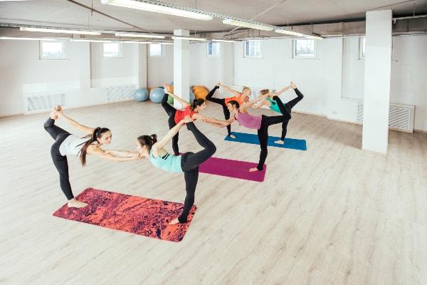Harder types of yoga- partner/acro yoga