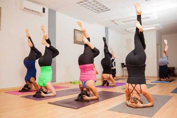 Rocket yoga-advanced type of yoga