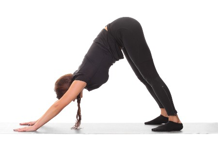 Downward Dog is an excellent pose to tone your arms.