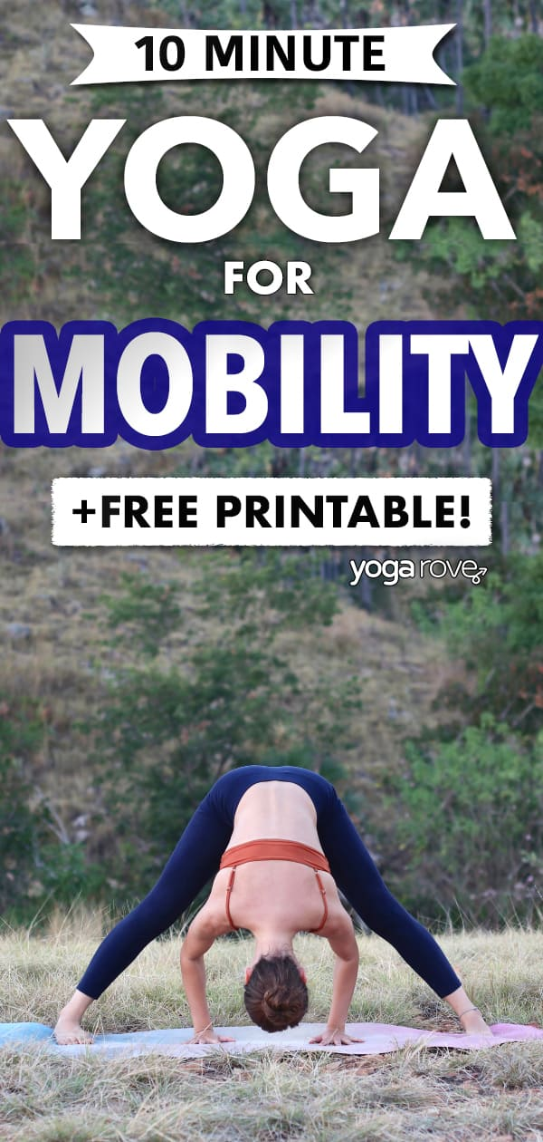 yoga for mobility routine