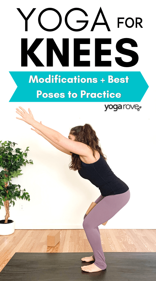 yoga modifications for bad knees