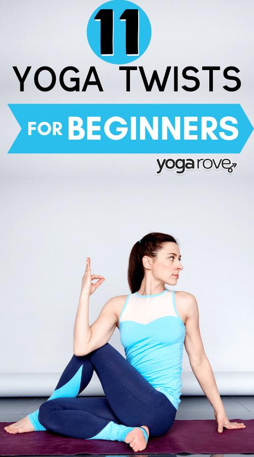 yoga twists for beginners
